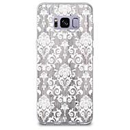 olcso Galaxy S tokok-Case Kompatibilitás Minta Hátlap Fa mintázat csipke nyomtatás Puha TPU mert S8 S8 Plus S7 edge S7 S6 edge plus S6 edge S6 S6 Active S5