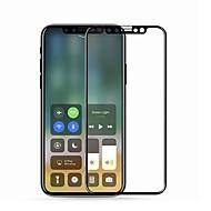 Недорогие Защитные плёнки для экрана iPhone-Защитная плёнка для экрана для Apple iPhone X Закаленное стекло 1 ед. Уровень защиты 9H / 2.5D закругленные углы / Защита от царапин