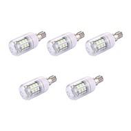 お買い得  LED コーン型電球-5個 2W 150lm LEDコーン型電球 T 30 LEDビーズ SMD 5730 温白色 110-120V
