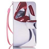 お買い得  iPod 用ケース/カバー-ケース 用途 iTouch 5/6 ウォレット カードホルダー スタンド付き フリップ パターン フルボディーケース PUレザー ハード