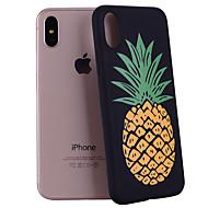 Назначение iPhone X iPhone 8 Чехлы панели С узором Задняя крышка Кейс для Фрукты Мягкий Силикон для Apple iPhone X iPhone 8 Plus iPhone 8