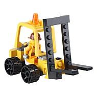 tanie Zabawki & hobby-SHIBIAO Klocki Wózek widłowy Zabawki Wózek widłowy Pojazdy Wojskowy DIY Klasyczny New Design Dla dorosłych 37 Sztuk