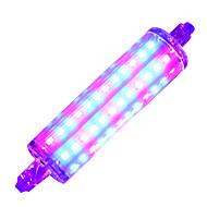 7W R7S LED-kasvivalo 72 SMD 2835 600-700 lm Viininpunainen - K V 1 kpl
