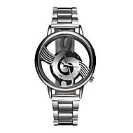 levne Šperky&Hodinky-Pánské Dámské Křemenný Náramkové hodinky Hodinky na běžné nošení Nerez Kapela Přívěšky Módní Stříbro