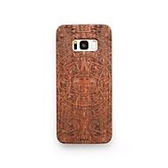 Кейс для Назначение SSamsung Galaxy S8 Plus S8 Защита от удара Рельефный Задняя крышка Панк Твердый Дерево для S8 S8 Plus