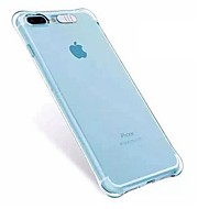 Недорогие Кейсы для iPhone 8-Кейс для Назначение Apple iPhone X iPhone 8 iPhone 8 Plus Защита от удара Мигающая LED подсветка Кейс на заднюю панель Прозрачный Мягкий