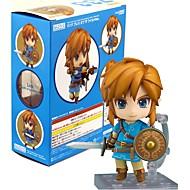 عمل أرقام أنيمي مستوحاة من The Legend of Zelda Link PVC 10 CM ألعاب تركيب دمية لعبة