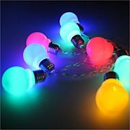 tanie Taśmy świetlne LED-Łańsuchy świetlne 20 Diody LED Ciepła biel Wielokolorowy Prosty Bateria