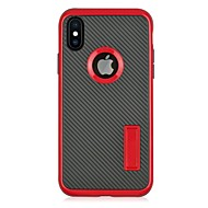 Kılıf Na Apple iPhone X iPhone 8 Z podpórką Etui na tył Solid Color Twarde PC na iPhone X iPhone 8 Plus iPhone 8 iPhone 7 Plus iPhone 7