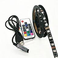 preiswerte -ZDM® Lichtsets 60 LEDs RGB Fernbedienungskontrolle Wasserfest <5V