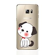 Недорогие Чехлы и кейсы для Galaxy S7-Кейс для Назначение SSamsung Galaxy S8 Plus S8 С узором Кейс на заднюю панель С собакой Мягкий ТПУ для S8 Plus S8 S7 edge S7 S6 edge plus