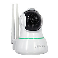 お買い得  -VESKYS 2mp IP Camera 屋内 with 赤外線カット 128GB / PTZ / ケーブル / CMOS / ワイヤレス / ダイナミックIPアドレス