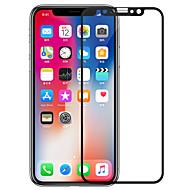 Недорогие Защитные плёнки для экрана iPhone-Защитная плёнка для экрана Apple для iPhone X Закаленное стекло 1 ед. Защитная пленка на всё устройство Антибликовое покрытие Против