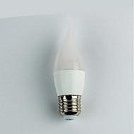 お買い得  LED ボール型電球-1個 4W 300lm E27 LEDボール型電球 C35 6 LEDビーズ SMD 3528 温白色 110-240V