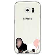 Case Kompatibilitás Samsung Galaxy S8 Plus S8 Minta Hátlap Kutya Állat Puha TPU mert S8 S8 Plus S7 edge S7 S6 edge plus S6 edge S6