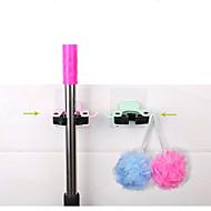 お買い得  浴室用小物-ホック プロフェッショナルレベル 壁式 シンプル 多機能 ブティック PVC 1個 バス組織