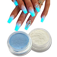 Nail Glitter Neon & Bright Art Deco / Retro Shiny Luminous Acrylic Powder Glitter Powder 0.001kg/box