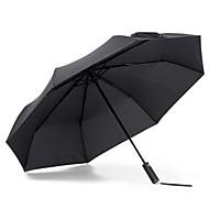Недорогие Интеллектуальные коммутаторы-зонт xiaomi для солнечных и дождливых дней - черный солнечный свет - теплоизоляционный анти-УФ
