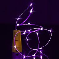 povoljno -brelong 2m 20 led boca vina bakrene žičane svjetiljke za božićni vjenčanje party ukrasa