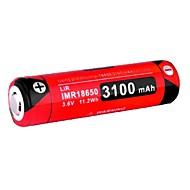 KLARUS 18GT-IMR31 batteria Portatile Professionale Facile da portare Alta qualità Leggerezza per 18650 Ioni di litio