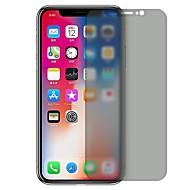 Недорогие Защитные плёнки для экрана iPhone-Защитная плёнка для экрана Apple для iPhone X Закаленное стекло 1 ед. Защитная пленка для экрана Anti-Spy Защита от царапин