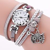tanie Zegarki boho-Damskie Sztuczny Diamant Zegarek Na codzień Modny Zegarek na bransoletce Chiński Kwarcowy sztuczna Diament PU Pasmo Na co dzień