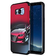 billige Galaxy S7 Edge Etuier-Etui Til Samsung Galaxy S8 Plus S8 Mønster Bagcover Byudsigt Hårdt PC for S8 Plus S8 S7 edge S7