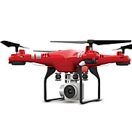 preiswerte Spielzeuge & Spiele-RC Drohne FLYRC X52 4 Kan?le 6 Achsen 2.4G Mit HD - Kamera 0.3MP 640P*480P Ferngesteuerter Quadrocopter WIFI FPV Höhe Holding LED-Lampen
