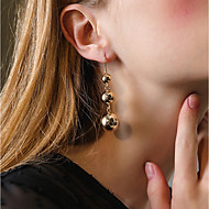 Women's Drop Earrings Hoop Earrings Metallic Classic Vintage Casual Fashion Alloy Geometric Jewelry For Bar Club