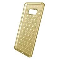 Недорогие Чехлы и кейсы для Galaxy S8 Plus-Кейс для Назначение SSamsung Galaxy S8 Plus S8 S7 edge S7 Защита от удара Матовое Прозрачный Задняя крышка Сплошной цвет Прозрачный Горох