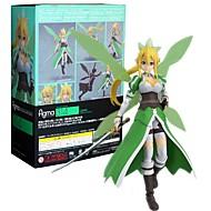 저렴한 -애니메이션 액션 피규어 에서 영감을 받다 Sword Art Online Aisha CM 모델 완구 인형 장난감