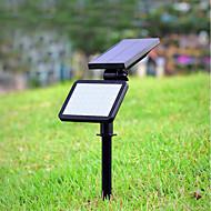 preiswerte LED Solarleuchten-1pc 4.5W Leuchte für Rasenplatz Dekorativ Natürliches Weiß <5V Außenbeleuchtung