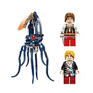 cheap Toys & Hobbies-ENLIGHTEN Building Blocks Toys Octopus Beach Theme Animals Nautical Pirates Non Toxic Octupus Monster Children's Adults' Boys' 231 Pieces