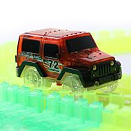 Track Sets Spielzeug Spielzeug Beleuchtung Kinder Stücke