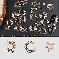 Nail Glitter Art Deco / Retro Nail Jewelry 0.005kg/box