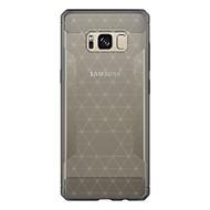 Кейс для Назначение SSamsung Galaxy S8 Plus S8 Защита от удара Матовое Задняя крышка Сплошной цвет Мягкий TPU для S8 Plus S8 S7 edge S7