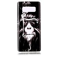 Недорогие Чехлы и кейсы для Galaxy Note 2-Кейс для Назначение SSamsung Galaxy Note 8 С узором Кейс на заднюю панель Животное Мягкий ТПУ для Note 8 Note 5 Edge Note 5 Note 4 Note 3
