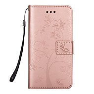 Недорогие Чехлы и кейсы для Galaxy S8-Кейс для Назначение SSamsung Galaxy S8 Plus S8 Бумажник для карт Кошелек со стендом Флип Магнитный С узором Чехол дерево Животное Твердый