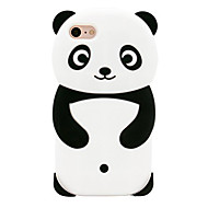 Θήκη Za iPhone 7 / Apple iPhone 8 / iPhone 7 Uzorak Stražnja maska Panda Mekano Silikon za iPhone 8 / iPhone 7