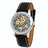 Férfi Karóra dobozok Alkalmi óra Divatos óra Ruha óra Szkeleton óra Karóra mechanikus Watch Egyedi kreatív Watch Kínai Automatikus