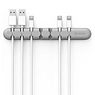 clip de organizador de cable de silicona organizador de cable orico cbs7