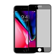 お買い得  -スクリーンプロテクター Apple のために iPhone 8 Plus 強化ガラス 1枚 フルボディプロテクター 3Dラウンドカットエッジ 覗き見防止 傷防止 防爆