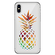 cheap Apple Accessories-Case For Apple iPhone X iPhone 8 Plus Pattern Back Cover Fruit Soft TPU for iPhone X iPhone 8 Plus iPhone 8 iPhone 7 Plus iPhone 7 iPhone