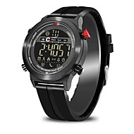 cheap -Smartwatch JEISO for Android 4.3 / iOS 7 Calories Burned / Works with iOS and Android system. / Pedometers / Message Reminder / Call Reminder Stopwatch / Pedometer / Call Reminder / Alarm Clock