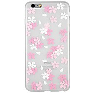 Coque Pour Apple iPhone 8 / iPhone 8 Plus / iPhone 7 Relief / Motif Coque Bande dessinée / Fleur Flexible TPU pour iPhone 8 Plus / iPhone 8 / iPhone 7 Plus