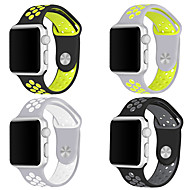 voordelige Apple-accessoires-Horlogeband voor Apple Watch Series 3 / 2 / 1 Apple Sportband Silicone Polsband