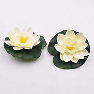 お買い得  造花-1 ブランチ プラスチック その他 蓮 テーブルトップフラワー 人工花