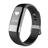 cheap -E18 Smart Bracelet Smartwatch Android iOS Bluetooth Waterproof Exercise Record Pedometers Passometer Pedometer Call Reminder Sleep Tracker Sedentary Reminder Find My Device / Alarm Clock / 150-200