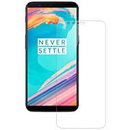olcso Képernyő védők-Képernyővédő fólia OnePlus mert OnePlus 5T Edzett üveg 1 db Képernyővédő fólia Karcolásvédő 2.5D gömbölyített szélek