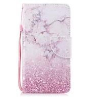 Недорогие Чехлы и кейсы для Galaxy S8 Plus-Кейс для Назначение SSamsung Galaxy S8 Plus S8 Бумажник для карт Кошелек со стендом Флип Магнитный С узором Чехол Мрамор Твердый Кожа PU